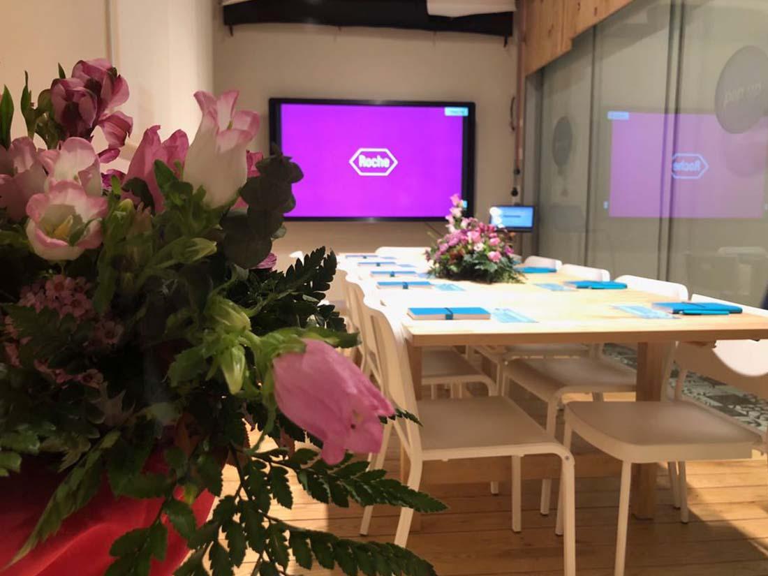 eventos pop up roche espacio corporativo cubo alquiler reuniones mejor coworking valladolid salas
