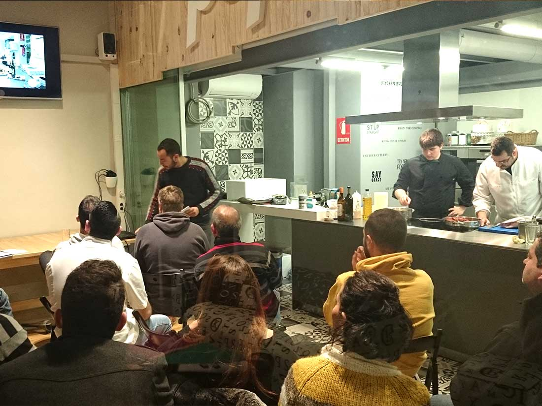 eventos pop up showcooking javier mariscal cocina alquiler valladolid