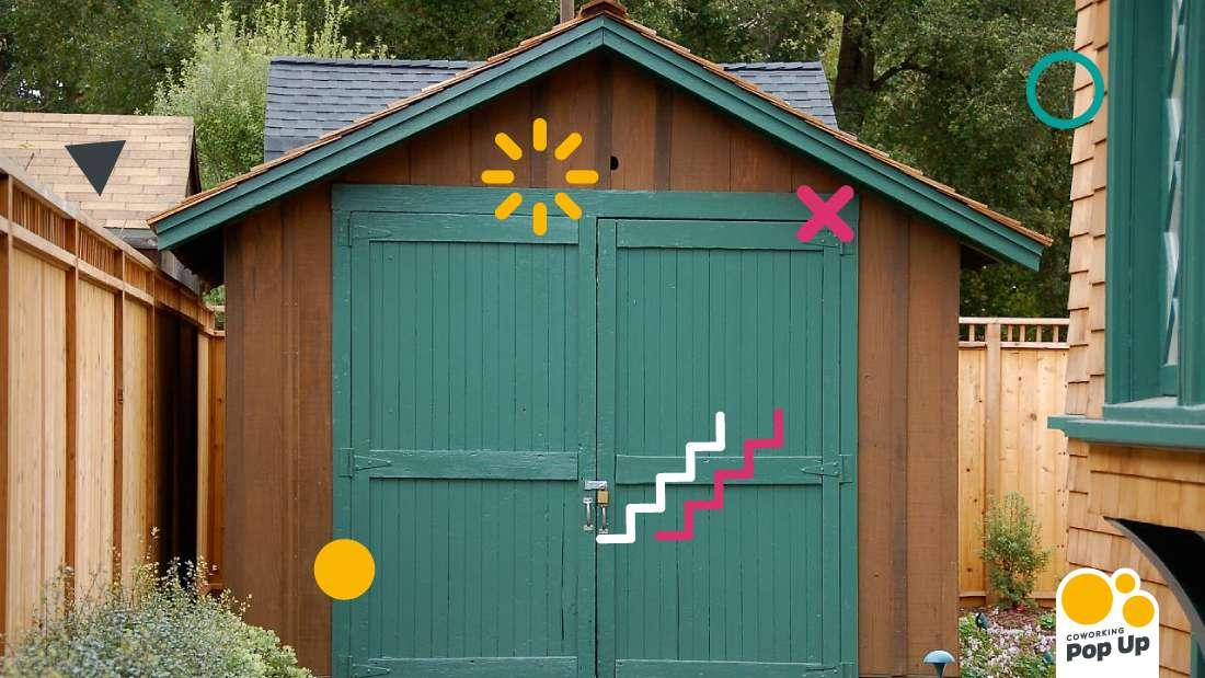 coworking garaje emprendedores Espacio Pop Up